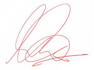 Andy Carter Signature