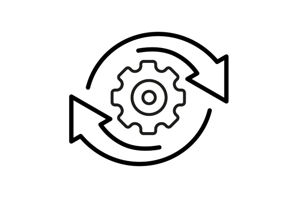 Backup & Maintenance Symbol