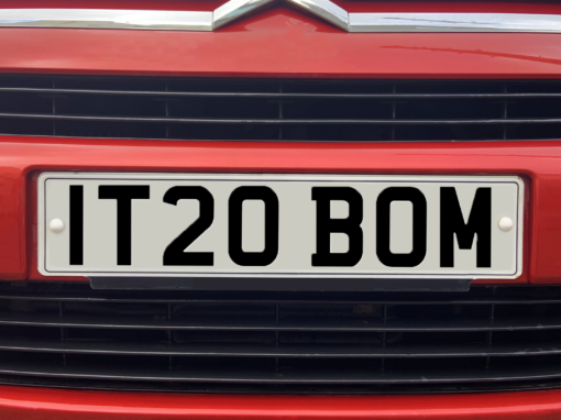 New number plates: new car! Make sure it's compliant, just like your IT